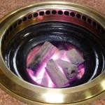 炭火&無煙ロースターを使用しています。
